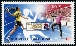 Nouvelle-Calédonie 2018 - Handball, Pôle Espoirs De N Calédonie - 1 Val Neuf // Mnh - Unused Stamps