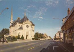 TOURS-SAINT-SYMPHORIEN: L'Eglise Du Christ-Roi, La Place Pilorget Et L'Avenue Maginot - Other Municipalities