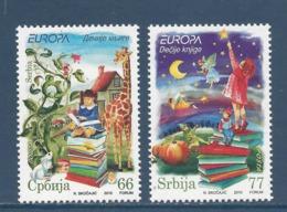 Serbie - Europa - Yt N° 348 Et 349 - Neuf Sans Charnière - 2010 - Serbie