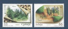 Serbie - Europa - Yt N° 398 Et 399 - Neuf Sans Charnière - 2011 - Serbie