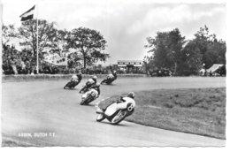 Carte-photo...Assen...Dutch T.T ...circuit...animée...1960... - Motociclismo