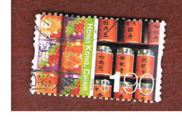 HONG KONG - SG 1125  -  2002  DEFINITIVES: DRINKS &TEA  - USED ° - 1997-... Région Administrative Chinoise