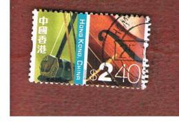 HONG KONG - SG 1127  -  2002  DEFINITIVES: ERHN & VIOLIN - USED ° - 1997-... Speciale Bestuurlijke Regio Van China