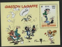 """BF 34 """"GASTON LAGAFFE Fête Du Timbre"""". Neuf Sans Charnière **. TB - Blocs & Feuillets"""