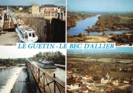 Le Guétin Cuffy Saincaize Gimouille Bec D'Allier Péniche Péniches Plaisance Canal - Autres Communes