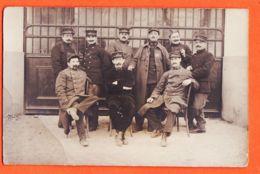 Mi316 Carte-Photo Poilus Du 16e , 24em Et 53 Em Régiment Guerre 1914-1918 CpaWW1 - Oorlog 1914-18