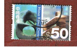 HONG KONG - SG 1134  -  2002  DEFINITIVES: SCULPTURES  - USED ° - 1997-... Région Administrative Chinoise