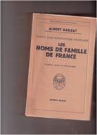 Albert DAUZAT LES NOMS DE FAMILLE DE FRANCE  Traité D'anthroponymie Française - Other