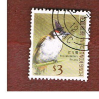 HONG KONG - MI 1397A  -  2006  BIRDS:  RED WISKERED BULBUL  - USED ° - 1997-... Région Administrative Chinoise