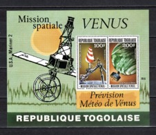 TOGO BLOC N° 117  NEUF SANS CHARNIERE COTE  4.00€   ESPACE VENUS - Togo (1960-...)