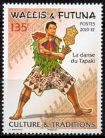Wallis Et Futuna 2019 - Danse Du Tapaki, Culture Et Traditions - 1 Val Neuf // Mnh - Neufs