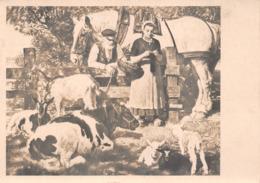 Junghanns Chèvres Cheval Vache Moutons Haus Der Kunst München - Paintings