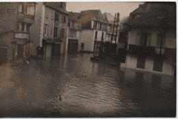 SALIES  CARTE PHOTO  CRUE DU 12 MARS 1930 - Salies De Bearn