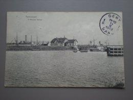 TERNEUZEN - NIEUW KANAAL - MET SLUIS - 1913 - Terneuzen