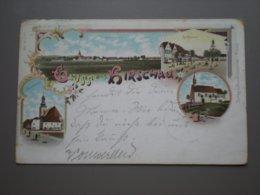 HIRSCHAU - LITHO 1898 - Hirschau