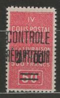 Algérie YT Colis-Postaux 25 XX / MNH - Algeria (1924-1962)