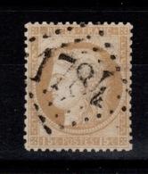 Ceres YV 55 Oblitere GC 1784 De Les Herbiers , Pas Aminci Cote 5 Euros - 1871-1875 Cérès