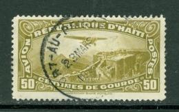 Poste Aérienne. Haïti; Timbre Scott Stamp # C-6; Usagé / Used. (8148) - Haïti