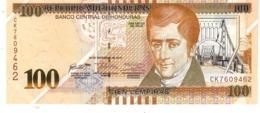 Honduras P.102 100 Lempiras 2016  Unc - Honduras