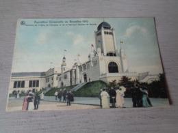 Bruxelles ( 90 )  Brussel   Exposition 1910  -  Fabrique D' Armes De Herstal - Couleurs - Wereldtentoonstellingen