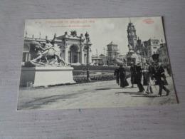 Bruxelles ( 91 )  Brussel   Exposition 1910  -  Entrée Monumentale - Marcovici - Wereldtentoonstellingen