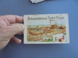 Carte Commerciale Illustrée BRASSERIE DE SEPT FONS ( Bière ) - Frankreich