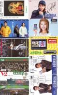 10 Télécartes - Prepaid Différentes  JAPON * COCA COLA (LOT A-5) JAPAN  10 DIFFERENT PHONECARDS * 10 VERSCHIEDENE TK - Alimentazioni