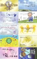 10 Télécartes - Prepaid Différentes  JAPON * SPORT * GOLF (LOT A-22) JAPAN 10 DIFFERENT PHONECARDS * 10 VERSCHIEDENE TK - Sport