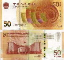 CHINA, P.R.        50 Yuan        Comm.       P-New        2018        UNC - Cina