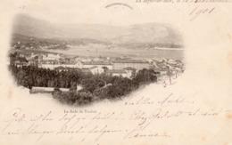 83 LA SEYNE SUR MER LA RADE DE TOULON CARTE PRECURSEUR 1901 - La Seyne-sur-Mer