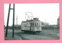 Photo Strépy  =  TRAM  Ligne  40 Trivière  Strépy - Reproductions