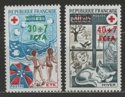 Réunion YT 431-432 XX / MNH - Reunion Island (1852-1975)