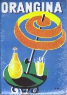 PUBLICITE ORANGINA - CARTE METAL 15X21 - EDITIONS CLOUET - SOUS BLISTER - Plaques Publicitaires