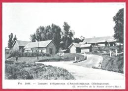 Peste. Lazaret Antipesteux D'Ambohimianga. Madagascar. Larousse Médical 1974. - Vieux Papiers