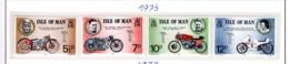 SPORT - OLYMPIC GAMES - 1975 - JERSEY  -  Mi. Nr. 60/63 - NH - (6532-54) - Isola Di Man