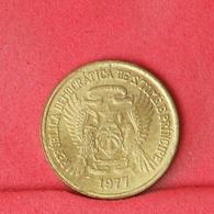 SAINT THOMAS E PRINCIPE 50 CENTIMOS 1977 -    KM# 25 - (Nº31237) - Sao Tome And Principe