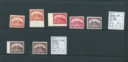 Lot De 5 Essais ND B929 + 2 Essais Dent. B928 - Proofs & Reprints
