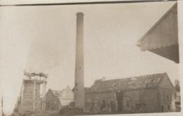 Photographie - Carte-photo - Usine Haut-Fourneau Bombardés - Ruine Guerre ? - Lieu à Situer - Fotografía
