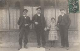 Photographie - Carte-photo - Travailleurs Famille Fillette - Loiret ? - Fotografía