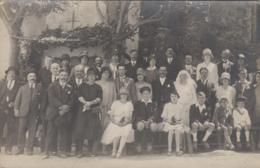 Photographie - Carte-photo - Mariage Famille Tufféry Et Mabou - Juillet 1927 - Mode Chapeau - Fotografía