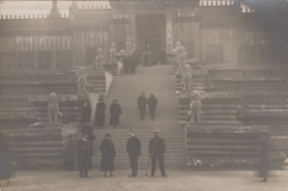 Photographie - Carte-photo - Exposition Coloniale 1931 - Escalier Monumental Angkor Vat - Fotografía