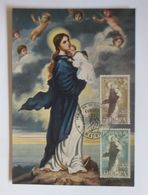 Spanien, Maximumkarte,  Nuestra Senora De Europa, 1963 ♥ (4373) - [7] Repubblica Federale
