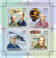 Guinea - Bissau 2006 - History Of Aviation (Wrights, Montgolfier, Zeppelin..) 4v Y&T 2174-2177, Michel 3330-3333 - Guinea-Bissau