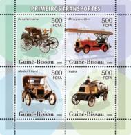 Guinea - Bissau 2006 - Early Transports 4v Y&T 2178-2181, Michel 3350-3353 - Guinea-Bissau