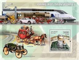 Guinea - Bissau 2006 - Early Transports (Dunlop) S/s Y&T 309, Michel 3379/BL558 - Guinea-Bissau
