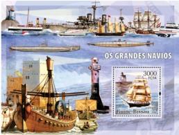 Guinea - Bissau 2006 - Sail Ships & Lighthouses S/s Y&T 310, Michel 3324/BL551 - Guinea-Bissau