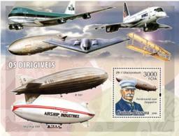 Guinea - Bissau 2006 - Dirigables (zeppelins) S/s Y&T 318, Michel 3342/BL553 - Guinea-Bissau