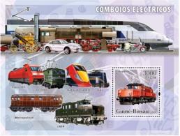 Guinea - Bissau 2006 - Electric Trains S/s Y&T 315, Michel 3382/BL561 - Guinea-Bissau
