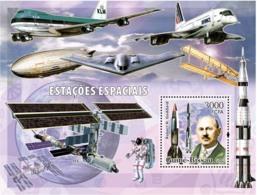Guinea - Bissau 2006 - Space Stations S/s Y&T 307, Michel 3343/BL554 - Guinea-Bissau