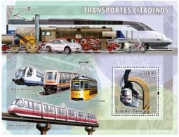 Guinea - Bissau 2006 - City Transport - Trams S/s Y&T 317, Michel 3385/BL564 - Guinea-Bissau